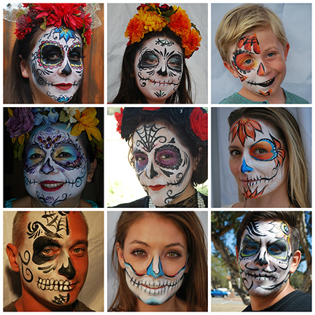 Face Painting & Body Art By MC: Henna Tattoos, Face Painting and Body Painting in Vista. Call today - (760) 445-2381