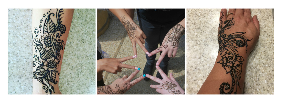 Henna Tattoos | Vista Henna Tattoos, Face Painting and Body Painting
